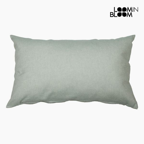 Cushion Cotton and polyester Green (30 x 50 x 10 cm) by Loom In Bloom