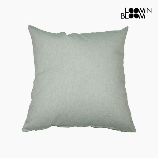 Cushion Cotton and polyester Green (45 x 45 x 10 cm) by Loom In Bloom