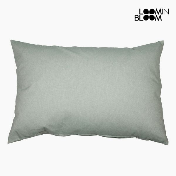 Cushion Cotton and polyester Green (50 x 70 x 10 cm) by Loom In Bloom