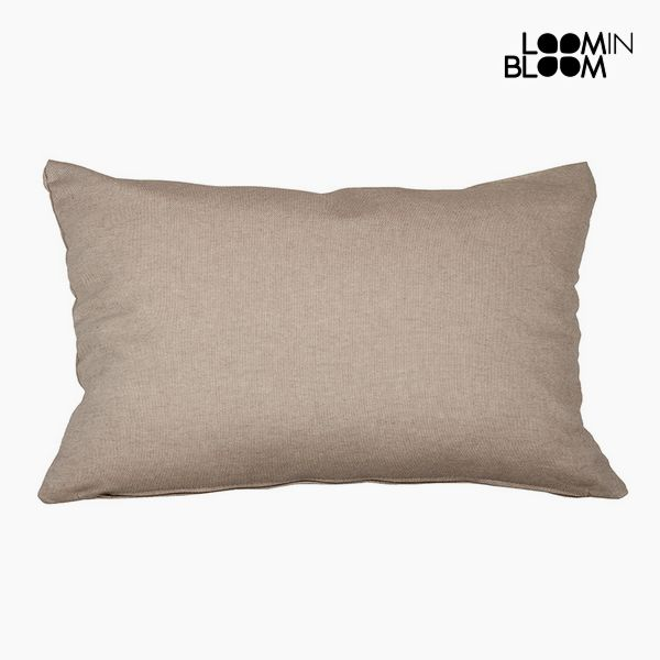 Cushion Cotton and polyester Brown (30 x 50 x 10 cm) by Loom In Bloom