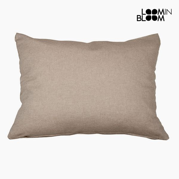 Cushion Cotton and polyester Brown (50 x 70 x 10 cm) by Loom In Bloom