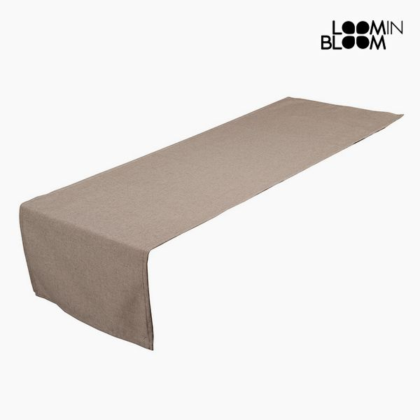 Table Runner Brown (40 x 13 x 0,5 cm) by Loom In Bloom