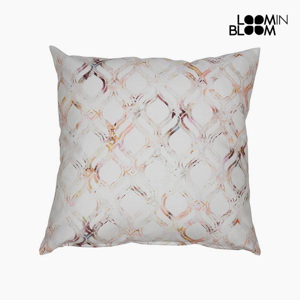 Cushion Cotton Orange (60 x 60 x 10 cm) by Loom In Bloom