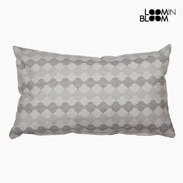 Cushion Cotton and polyester Grey (30 x 50 x 10 cm) by Loom In Bloom