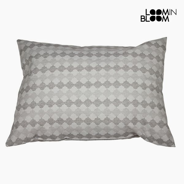 Cushion Cotton and polyester Grey (50 x 70 x 10 cm) by Loom In Bloom