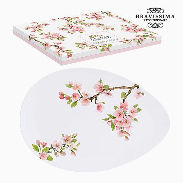 Plate Porcelain by Bravissima Kitchen