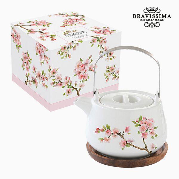 Teapot Porcelain by Bravissima Kitchen