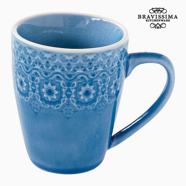 Cup Porcelain Blue by Bravissima Kitchen
