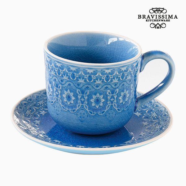Teacup Porcelain Blue by Bravissima Kitchen