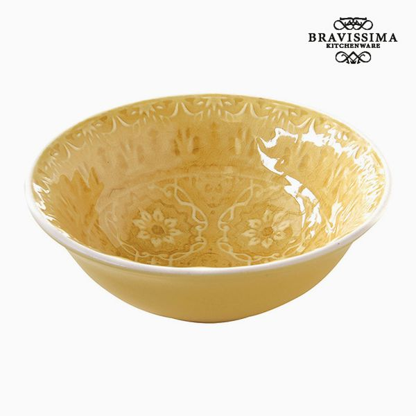 Bowl Porcelain Yellow by Bravissima Kitchen
