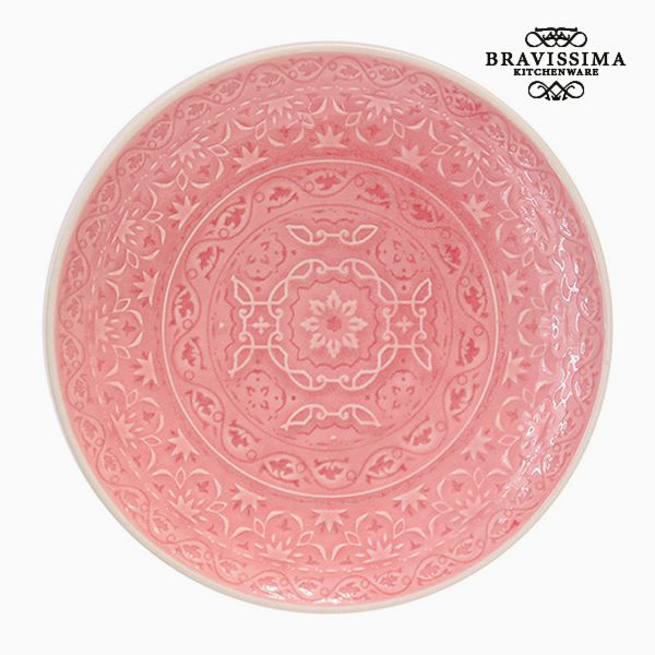 Plate Porcelain Coral by Bravissima Kitchen