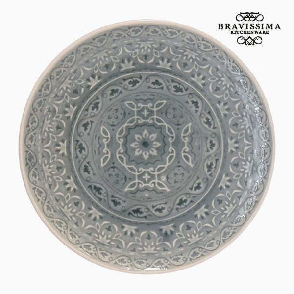 Plate Porcelain Grey by Bravissima Kitchen
