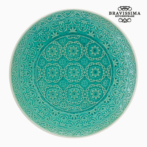 Flat plate Porcelain Green by Bravissima Kitchen