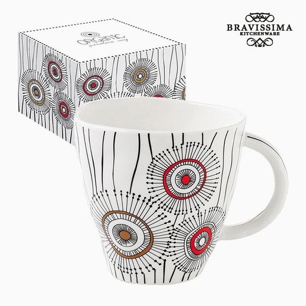 Cup with Box Porcelain White by Bravissima Kitchen