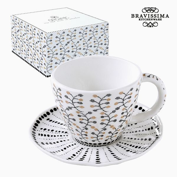 Teacup Porcelain Flowers by Bravissima Kitchen