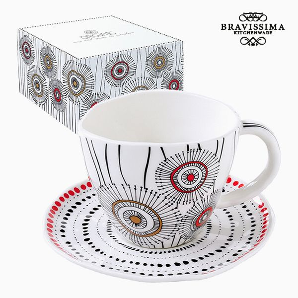 Teacup Porcelain White by Bravissima Kitchen
