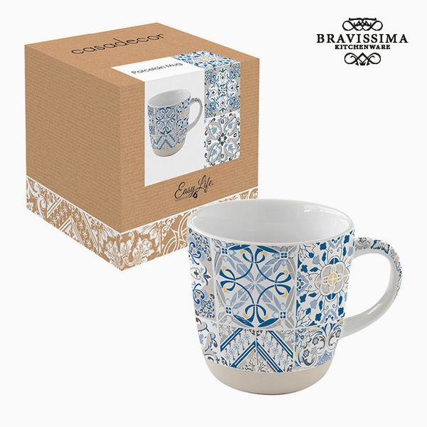 Cup Porcelain Mosaic by Bravissima Kitchen