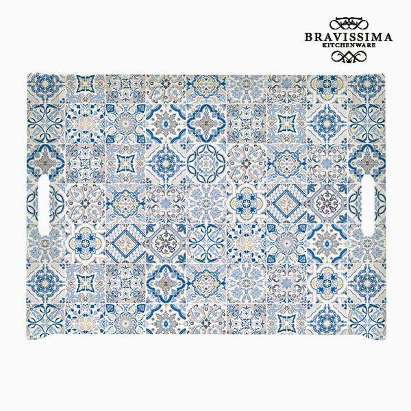 Tray Porcelain Blue by Bravissima Kitchen