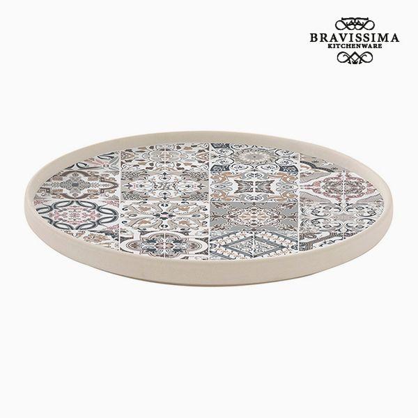 Flat plate Porcelain Grey by Bravissima Kitchen