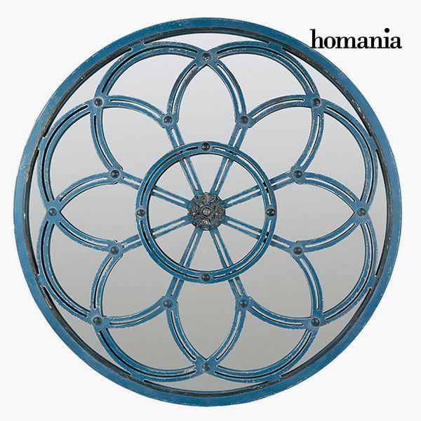 Mirror Circular Blue - Modern Collection by Homania