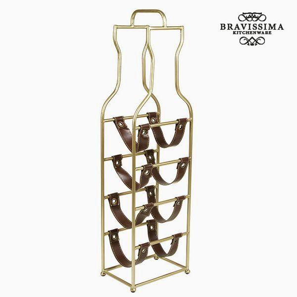 Bottle rack (4 bottles) - Art & Metal Collection by Bravissima Kitchen