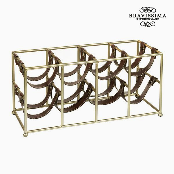 Bottle rack (8 bottles) - Art & Metal Collection by Bravissima Kitchen