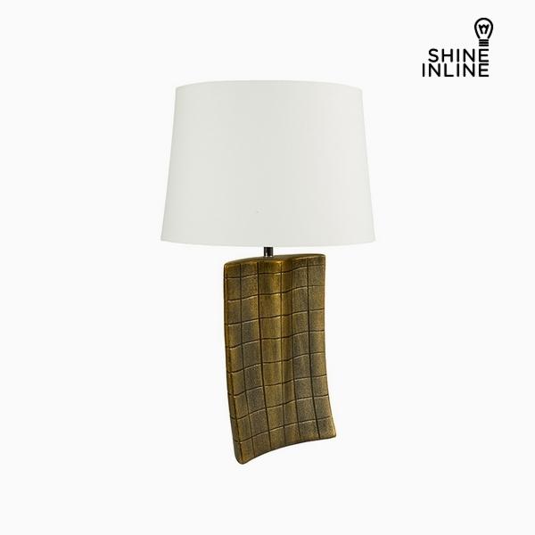 Desk Lamp Gold Ceramic (34 x 9 x 61 cm) by Shine Inline