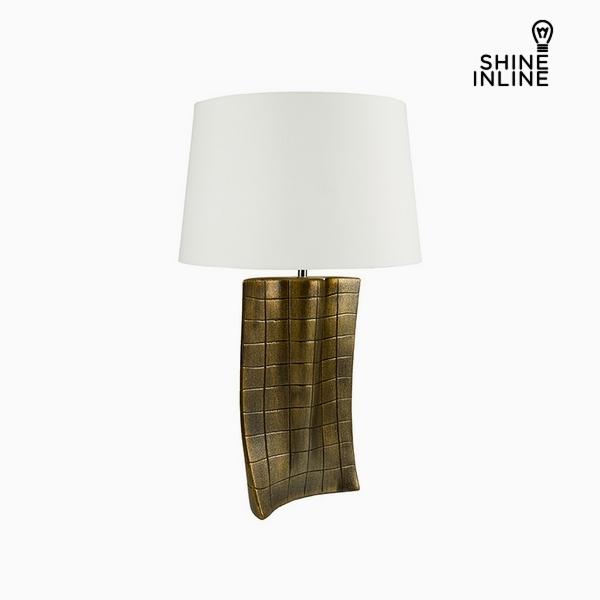 Desk Lamp Gold Ceramic (40 x 9 x 66 cm) by Shine Inline