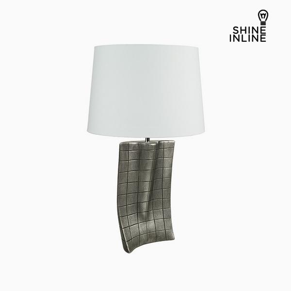 Desk Lamp Silver Ceramic (40 x 9 x 66 cm) by Shine Inline