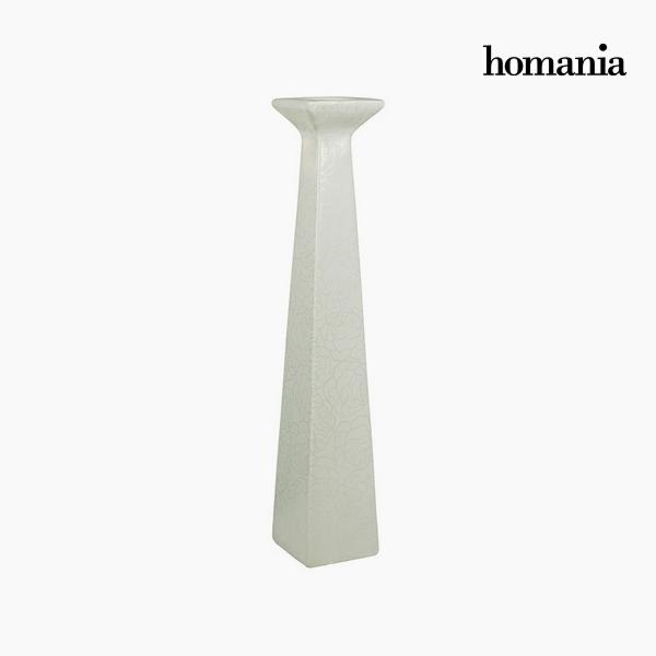 Candelabra Ceramic (11 x 11 x 45 cm) by Homania