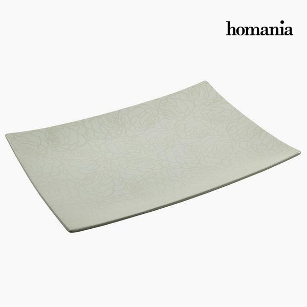Centerpiece Ceramic (40 x 29 x 4 cm) by Homania