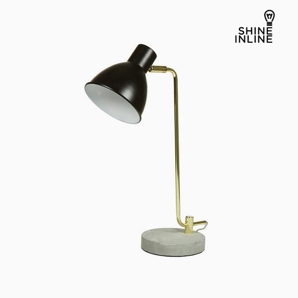 Desk Lamp Black Aluminium Cement (30 x 15 x 46 cm) by Shine Inline