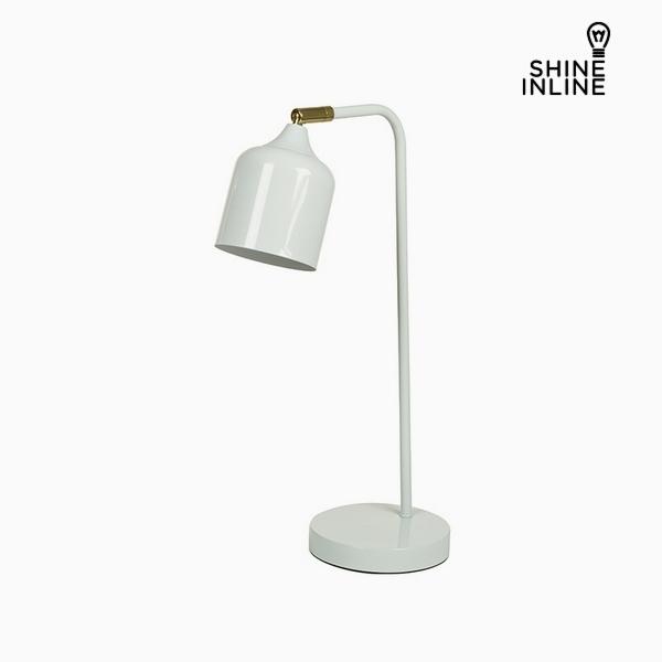 Desk Lamp White Aluminium (26 x 15 x 47 cm) by Shine Inline