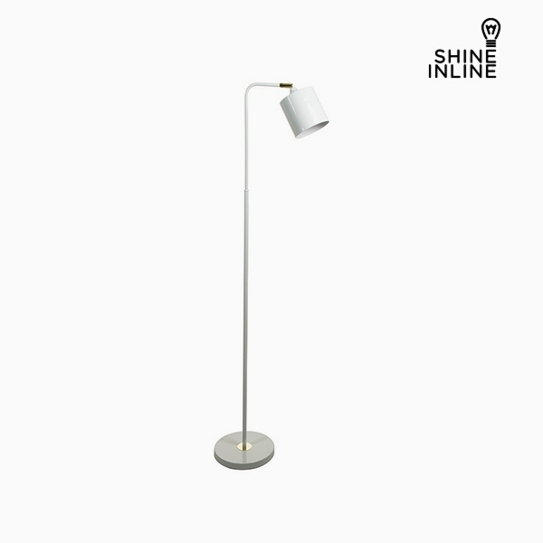 Floor Lamp White Aluminium (29 x 29 x 144 cm) by Shine Inline