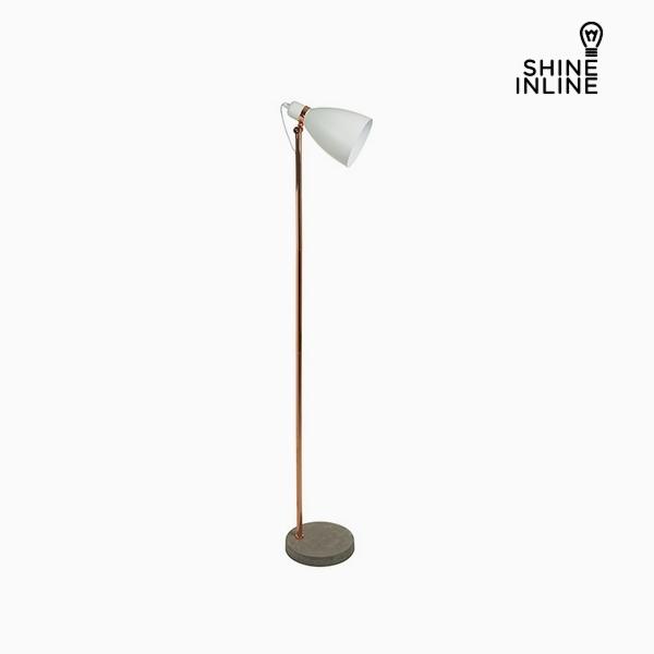 Floor Lamp White Aluminium Cement (29 x 24 x 151 cm) by Shine Inline
