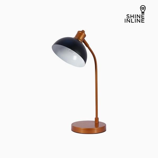 Desk Lamp Black Chrome Aluminium (27 x 18 x 51 cm by Shine Inline