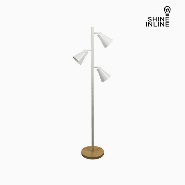 Floor Lamp Beech wood Iron (44 x 27 x 141 cm) by Shine Inline