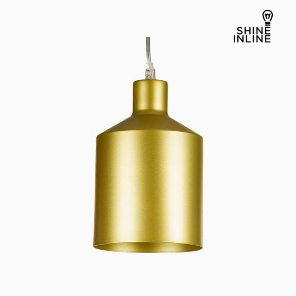 Ceiling Light Golden Iron (13 x 13 x 23 cm) by Shine Inline
