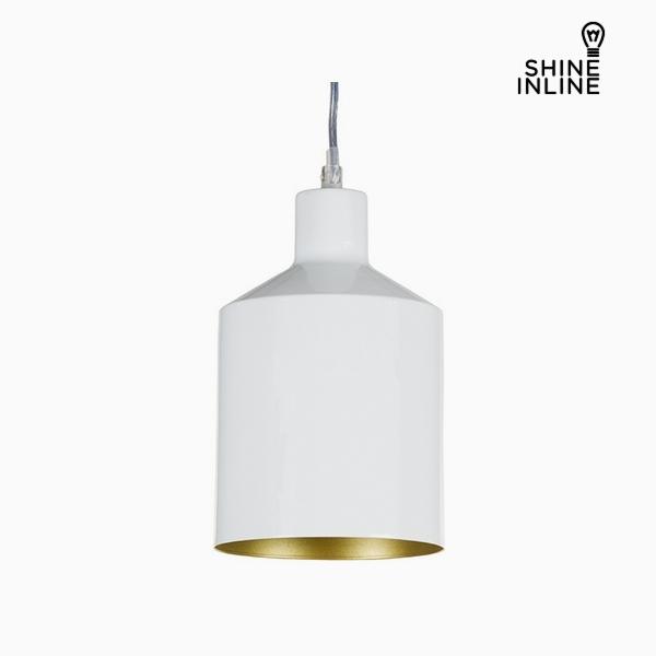 Ceiling Light White Iron (13 x 13 x 23 cm) by Shine Inline