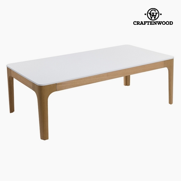 Centre Table Mdf White (120 x 65 x 42 cm) by Craftenwood