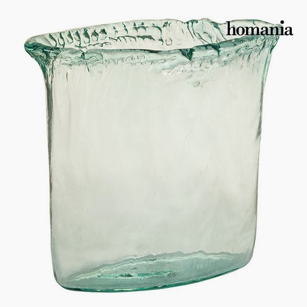 Vase made from recycled glass Transparent - Pure Crystal Deco Collection by Homania