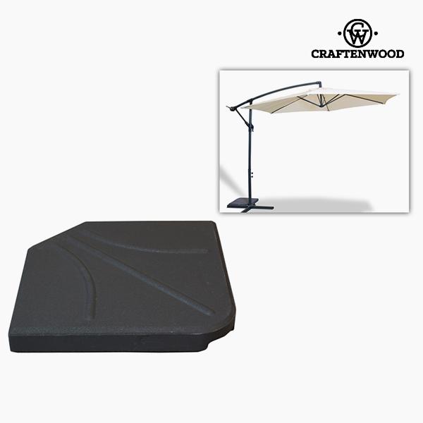 Base for beach umbrella (47 x 6 x 47 cm) Grey by Craftenwood
