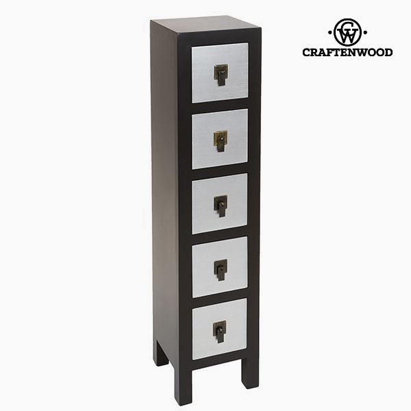 Chest of drawers Mdf (25 x 24 x 108 cm) - Modern Collection by Craftenwood