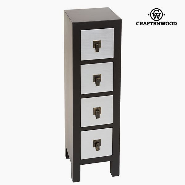 Chest of drawers Mdf (25 x 24 x 85 cm) - Modern Collection by Craftenwood
