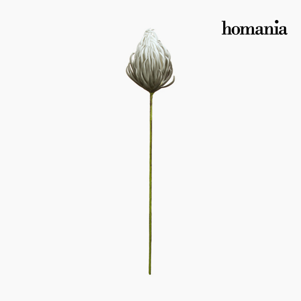 Decorative Figure Flower Foam Grey (87 cm) by Homania