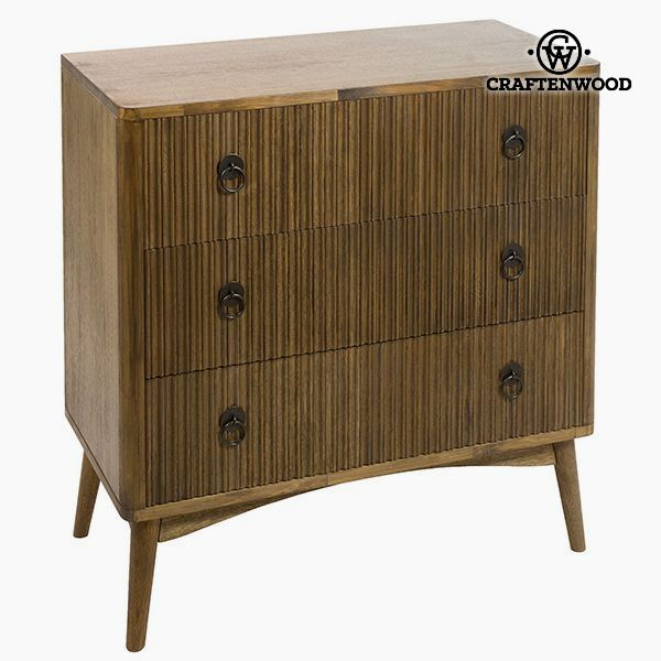 Chest of drawers Teak Mdf Brown (82 x 40 x 81,50 cm) - Be Yourself Collection by Craftenwood