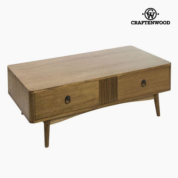 Centre Table Teak Mdf Brown (120 x 60 x 44 cm) - Be Yourself Collection by Craftenwood