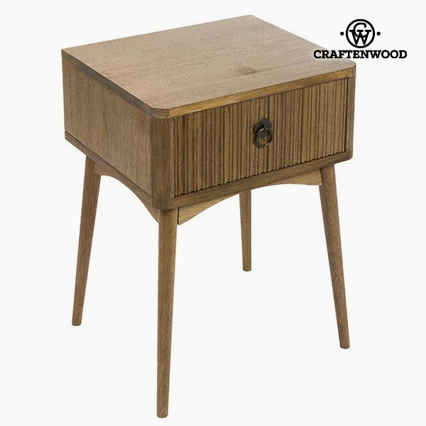 Nightstand Teak Mdf Brown (46 x 40 x 64 cm) - Be Yourself Collection by Craftenwood