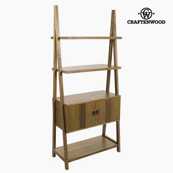 Shelves Teak Mdf (80 x 38 x 181 cm) - Be Yourself Collection by Craftenwood