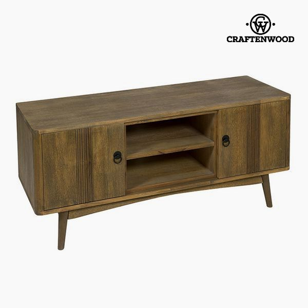 TV Table Teak Mdf Brown (130 x 45 x 57 cm) - Be Yourself Collection by Craftenwood